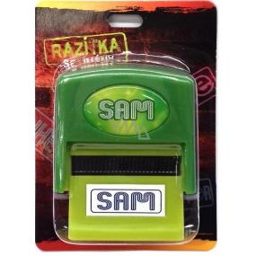 Albi Razítko se jménem Sam 6,5 cm × 5,3 cm × 2,5 cm