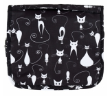 Albi Original Travel Travel Cosmetic Bag - Cats 24 cm × 19 cm × 3 cm