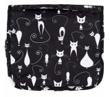 Albi Original Travel Travel Cosmetic Bag - Cats 24 cm × 19 cm × 3 cm