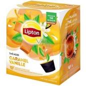 Lipton Black Tea Caramel & Vanilla - Karamel a vanilka aromatizovaný černý čaj kapsle Dolce Gusto 12 kusů 33,6 g