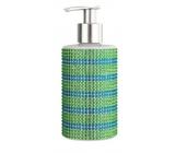 Vivian Gray Diamond Sundown Gr / Blue Luxury liquid soap with 250 ml dispenser
