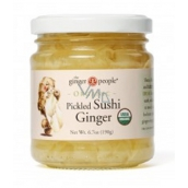 Ginger Slices (Sushi) Bio 190g