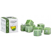 Cossack Green tea natural aromatic wax for aroma lamps and interiors 8 cubes 30 g