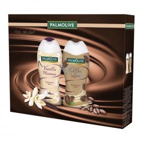 Palmolive Gourmet Vanilla Pleasure 250 ml shower gel + Gourmet Coffee Love 250 ml shower gel