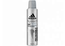 Adidas Pro Invisible antiperspirant deodorant spray for men 150 ml