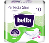 Bella Perfecta Slim Green ultra-thin sanitary napkins with wings 10 pieces