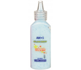 Amos Paints for glass with confetti 3. Blue 22 ml
