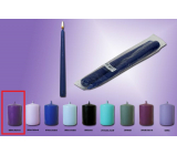 Lima Candle medium purple cone 22 x 250 mm 2 pieces