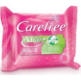 Carefree Aloe Vera napkins for intimate hygiene 20 pieces