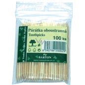 Bartoň Double-sided toothpicks 100 pieces