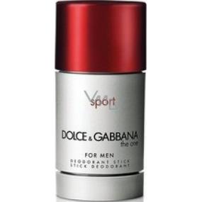 Dolce & Gabbana The One Sport deodorant stick for men 20 g
