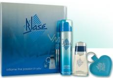 Blasé Blase eau de toilette 30 ml + deodorant spray 75 ml + heart keychain, gift set