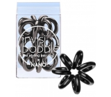 Invisibobble Nano True Black Hair band black spiral 3 pieces