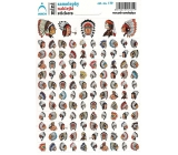 Arch School mini stickers Indians