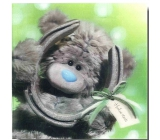 Me to You Congratulations to the 3D Envelope Good luck, Winnie the Pooh with a horseshoe 15.5 x 15.5 cm