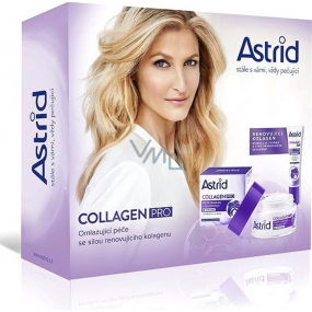 Astrid Collagen Pro Anti-Wrinkle Day Cream 50 ml + Eye Cream 15 ml, cosmetic set