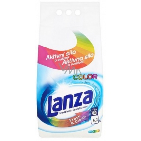 Lanza Fresh & Clean Color Color Wash Wash Powder maintains color intensity, with a pleasant scent of 90 doses of 6.3 kg