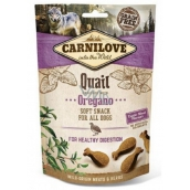 Carnilove Dog Quail with oregano delicious crispy treat for all dogs for healthy digestion 200 g