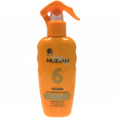 Nubian OF6 water and sand resistant sunscreen spray 200 ml