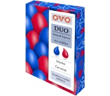 Ovo Liquid duo colors Blue / Red 2 colors each 20 ml: 1 bag (20 ml)