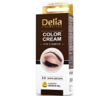 Delia Color Cream Eyebrow Cream 3.0 Dark Brown 15 ml + 15 ml