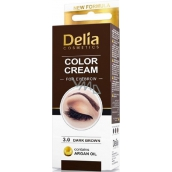 Delia Cosmetics Color Cream Eyeshadow Cream 3.0 Dark brown 15 ml + 15 ml