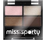 Miss Sports Studio Color Quattro Eye Shadow Eye Shadow 407 Mysterious Smoky 3.2 g