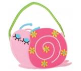 Felt handbag Snail 10 x 15 cm