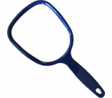 Mirror with small color handle 21 x 9.5 cm 60190