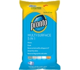 Pronto Multifunctional 5in1 dust wipes 25 pieces
