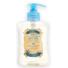 Bohemia Gifts & Cosmetics Dead Sea Mrtvé moře s extraktem mořských řas a solí Tekuté mýdlo 300 ml