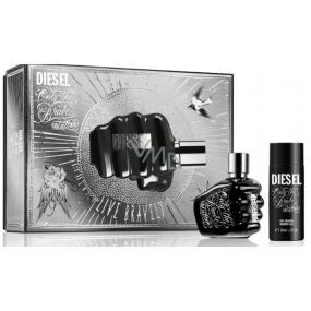 Diesel Only The Brave Tattoo eau de toilette for men 35 ml + shower gel 50 ml, gift set