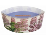 WoodWick Candle Ship Decal Lilac
