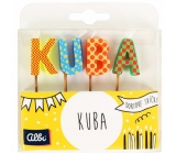 Albi Cake candles name - Cuba, 2.5 cm
