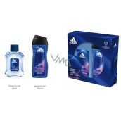 Adidas UEFA Champions League Victory Edition EdT 50 ml men's eau de toilette + 250 ml shower gel, gift set