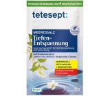 Tetesept Deep release sea salt for bath to relax body and mind 80 g