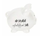 Albi Moneybox piggy bank big pearl Travel dreams 13 cm
