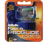 Gillette Fusion ProGlide Power spare head 4 pieces