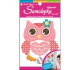 Room Decor Stickers on Owl Wall - 17 x 10 cm Hanger
