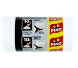 Fino Trash bags with handles 10 liters, 36 x 44 cm, 50 pieces