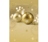 Ditipo Playing and shining greeting card in the envelope Beautiful Christmas N Merry Christmas Everyone 224 x 157 mm