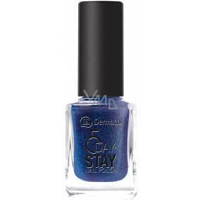 Dermacol 5 Day Stay Long-lasting nail polish 25 Night Sky 11 ml