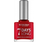 Deborah Milano 7 Days Long Nail Enamel Nail Polish 876 11 ml