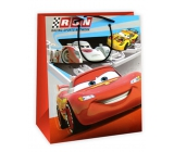 Ditipo Disney Gift Paper Bag for Kids L Cars McQueen, RSN 26.4 x 12 x 32.4 cm