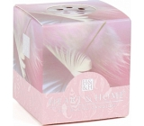 Heart & Home Angel's touch Soy scented candle without packaging burns for up to 15 hours 53 g