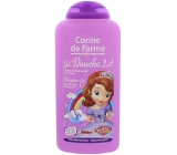 Corine de Farme 2v1 champagne + SG 250ml Sofia First 0584