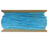 Blue paper string 30 m