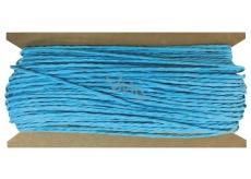 Blue paper string 30 m