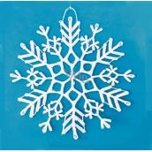 Crocheted snowflake 8 cm