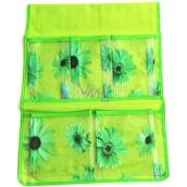 Hanging pocket green 47 x 36 cm 5 pockets 713